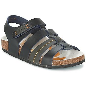 Zapatos Niño Sandalias Kickers MAGITEAM Negro