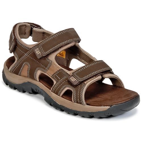 Zapatos Hombre Sandalias Caterpillar GILES Marrón