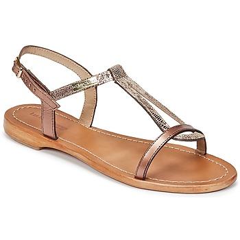 Zapatos Mujer Sandalias Les Tropéziennes par M Belarbi HAMAT Bronce