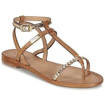 Zapatos Mujer Sandalias Les Tropéziennes par M Belarbi HILATRES Marrón / Oro