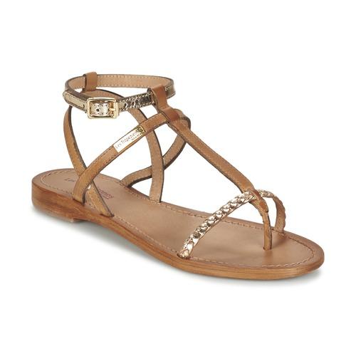 Les Tropéziennes par M Belarbi HILATRES Marrón / Oro - Envío gratis | ! - Zapatos Sandalias Mujer
