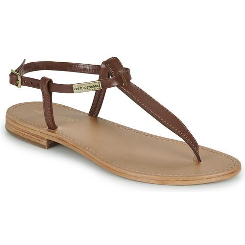 Les Tropéziennes par M Belarbi NARVIL Marrón - Envío gratis | ! - Zapatos Sandalias Mujer