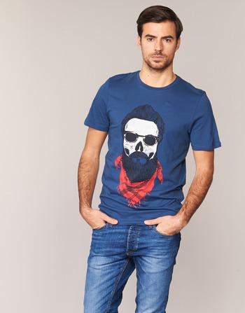 textil Hombre camisetas manga corta Jack & Jones TRICK ORIGINALS Marino