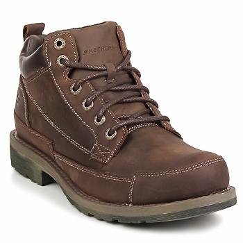 Zapatos Hombre Botas de caña baja Skechers SHOCKWAVES REGIONS Marrón