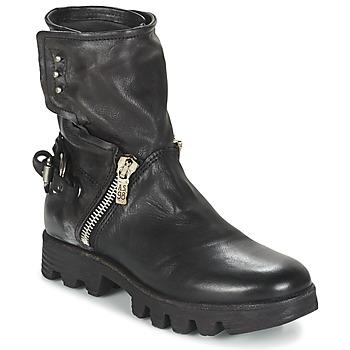 Zapatos Mujer Botas de caña baja Airstep / A.S.98 BREAK Negro
