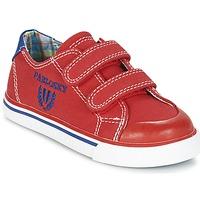 Zapatos Niño Zapatillas bajas Pablosky LIVABI Rojo