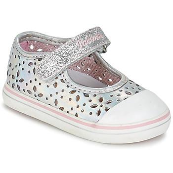 Zapatos Niña Bailarinas-manoletinas Pablosky MEZINILE Plata