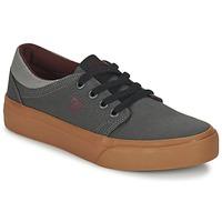 Zapatos Niños Zapatillas bajas DC Shoes TRASE TX B SHOE XSSR Gris / Rojo