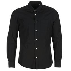 textil Hombre camisas manga larga Esprit FOVETTIO Negro