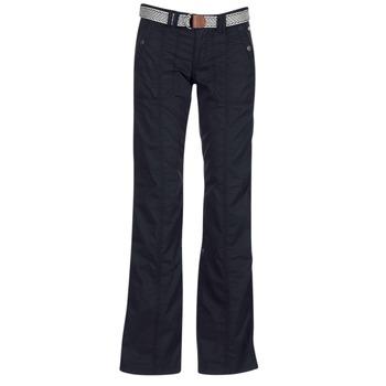 textil Mujer pantalones con 5 bolsillos Esprit TURN UP Negro