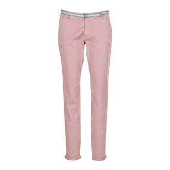 textil Mujer pantalones con 5 bolsillos Esprit HOUISSA Rosa