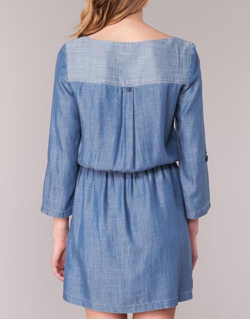 AzulMedium Cortos Esprit Vestidos Textil Mujer Chaviota n08mNwv