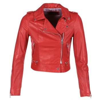 textil Mujer Chaquetas de cuero / Polipiel Oakwood 62326 Rojo