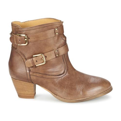 Mujer Casual Zapatos Sanou Marrón Attitude Botines QWdBoCxerE