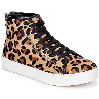 Zapatos Mujer Zapatillas altas North Star BEID Leopardo