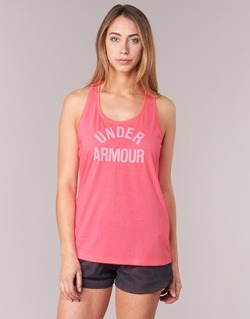 textil Mujer camisetas sin mangas Under Armour THREADBORNET TWIST GRAPHIC Rosa