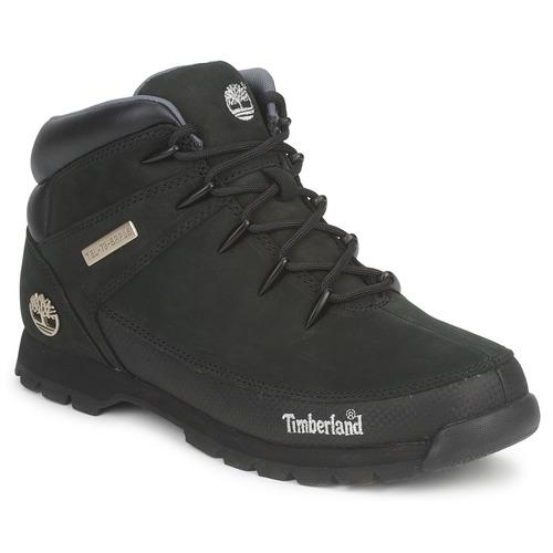 Zapatos Hombre Botas de caña baja Timberland EURO SPRINT HIKER Negro