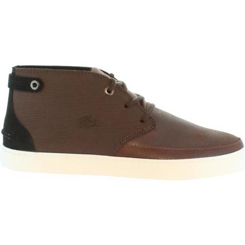 modelo más vendido de la marca Lacoste 32CAM0012 CLAVEL Marrón promoción - Envío gratis Nueva promoción Marrón - Zapatos Botas de caña baja Hombre 330b8f