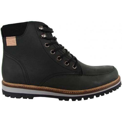 Tiempo 30SRM0017 limitado especial  Lacoste 30SRM0017 Tiempo MONTBARD Negro - Envío gratis Nueva promoción - Zapatos Botas urbanas Hombre 03a000
