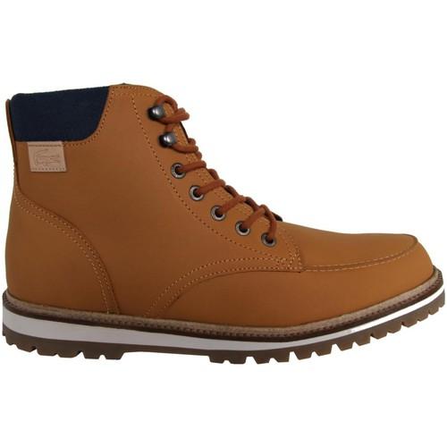 Nuevos zapatos para hombres y mujeres, descuento por tiempo MONTBARD limitado  Lacoste 30SRM0017 MONTBARD tiempo Marrón - Envío gratis Nueva promoción - Zapatos Botas urbanas Hombre 31a018