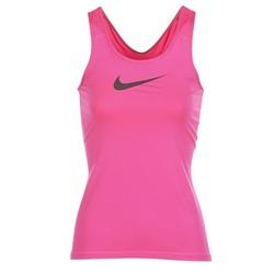 textil Mujer camisetas sin mangas Nike NIKE PRO COOL TANK Rosa