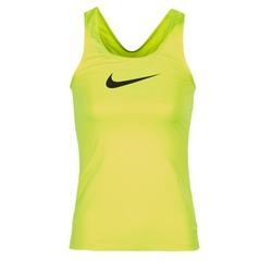 textil Mujer camisetas sin mangas Nike NIKE PRO COOL TANK Amarillo