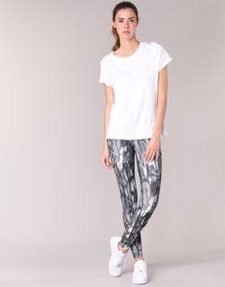 textil Mujer leggings Nike PWR LGND TGHT PRNT Gris / Negro