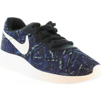Zapatos Mujer Deportivas Moda Nike 820201 TANJUN PRINT Azul
