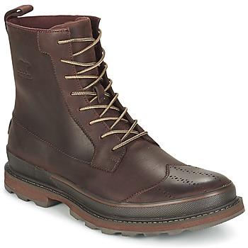 Zapatos Hombre Botas de caña baja Sorel MADSON WINGTIP BOOT Marrón