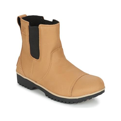 Recortes de precios estacionales, beneficios de descuento Sorel MEADOW CHELSEA Beige - Envío gratis Nueva promoción - Zapatos Botas de caña baja Mujer