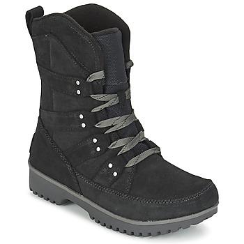 Zapatos Mujer Botas de caña baja Sorel MEADOW LACE Negro