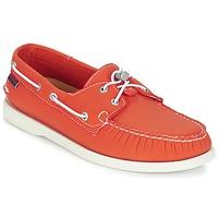Zapatos Hombre Zapatos náuticos Sebago DOCKSIDES ARIAPRENE Naranja / ARIAPRENE