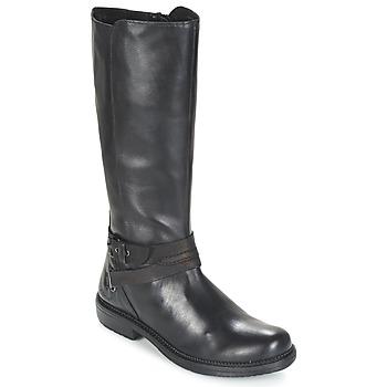 Zapatos Mujer Botas de caña baja Kickers MOTCAST Negro