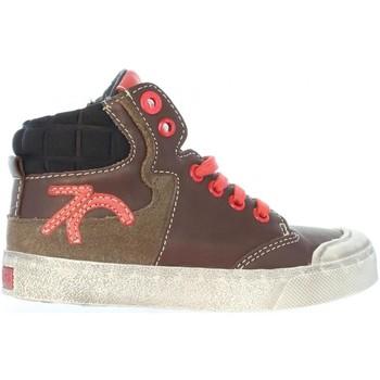 Zapatos Niños Zapatillas altas Kickers 508900-10 CUMMIN Marrón