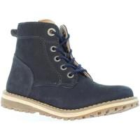 Zapatos Niños Botas urbanas Kickers 511860-30 LUCIO Azul