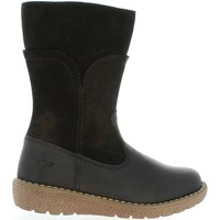 Zapatos Niña Botas urbanas Kickers 509700-30 UZOLA Negro