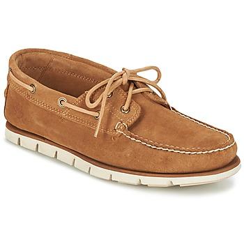 Zapatos Hombre Zapatos náuticos Timberland Tidelands 2 Eye Marrón