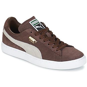Zapatos Zapatillas bajas Puma SUEDE.BROWN/SESAME Marrón