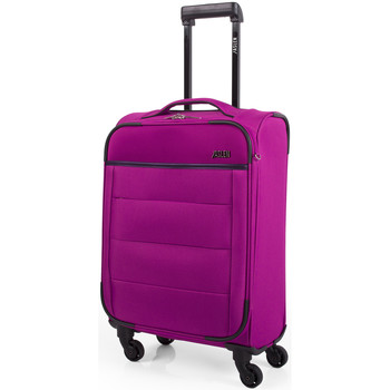 Bolsos Maleta flexible Jaslen 76350 TROLLEY CABINA LOW COST Fucsia