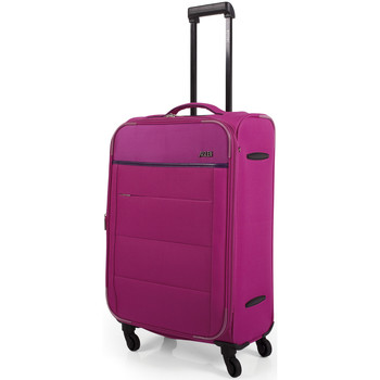 Bolsos Maleta flexible Jaslen 76360 TROLLEY MEDIANO EXPANDIBLE Fucsia