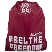 Bolsos Mochila de deporte Route 66 North Carolina Granate