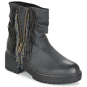 Zapatos Mujer Botas de caña baja Coolway BARINA Negro
