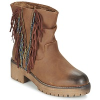 Zapatos Mujer Botas de caña baja Coolway BARINA Camel