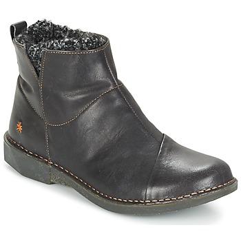 Zapatos Mujer Botas de caña baja Art BERGEN Negro
