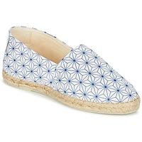 Zapatos Mujer Alpargatas Maiett ASANOHA Azul / Blanco