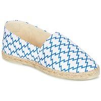 Zapatos Mujer Alpargatas Maiett KIMONO Blanco / Azul