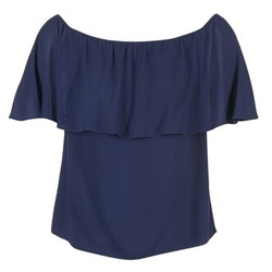 textil Mujer Tops / Blusas Betty London GIVATE Marino