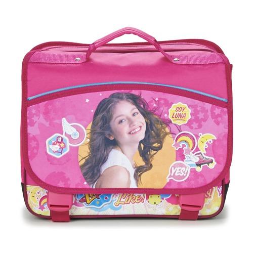 Disney SOY LUNA CARTABLE 38CM Rosa - Envío gratis | ! - Bolsos Cartable Nino