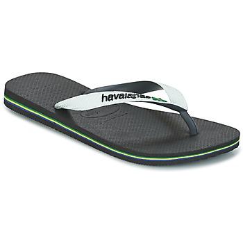 Zapatos Chanclas Havaianas BRASIL MIX Blanco / Negro