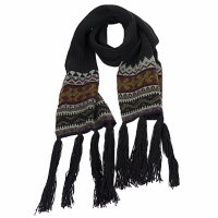 Accesorios textil Mujer Bufanda Essentiel ZILE Negro / Kaki